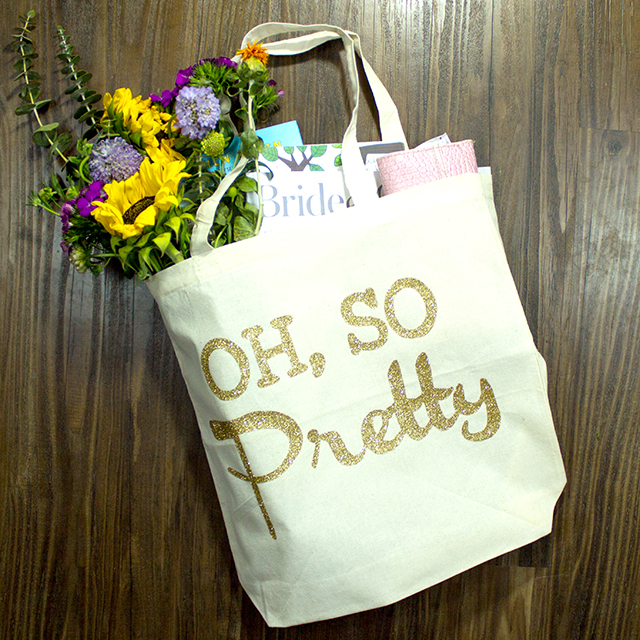 Market or Wedding Day Tote