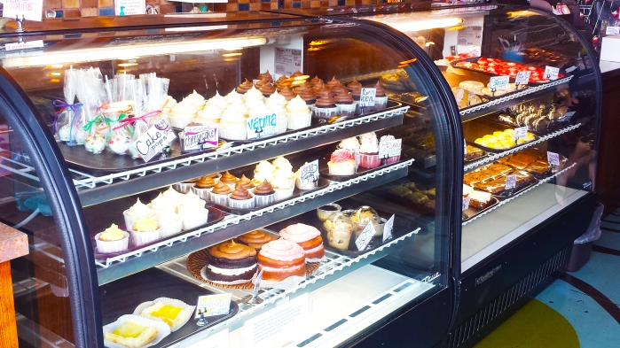The Cake Displays at Dippidee bakery