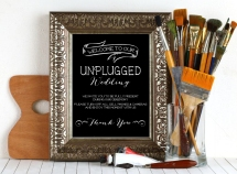 Unplugged_Wedding_Frame2