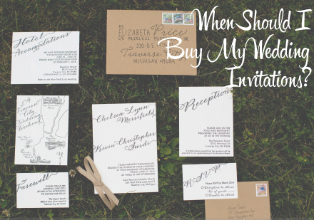 Wedding Invitation Suite. When Should I Buy My Wedding Invitations?